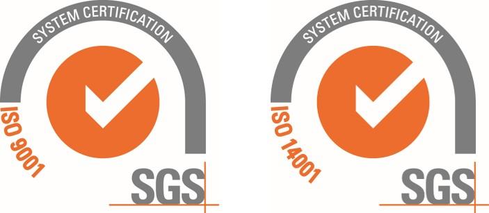 GETEC Vehicle Technology (Suzhou) Co., Ltd has been ISO 9001 &14001 certified