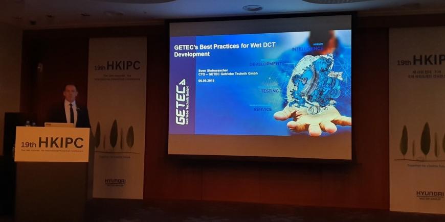 GETEC Getriebe Technik GmbH presented in HKIPC 2019