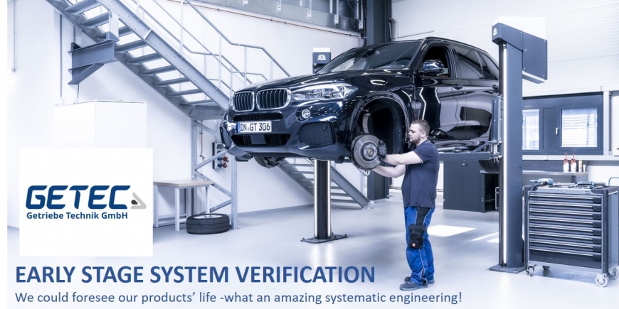 EARLY STAGE SYSTEM VERIFICATION