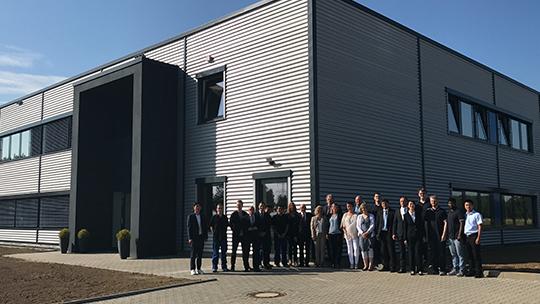Feierliche Eröffnung im Industriepark Emil-Mayrisch in Aldenhoven